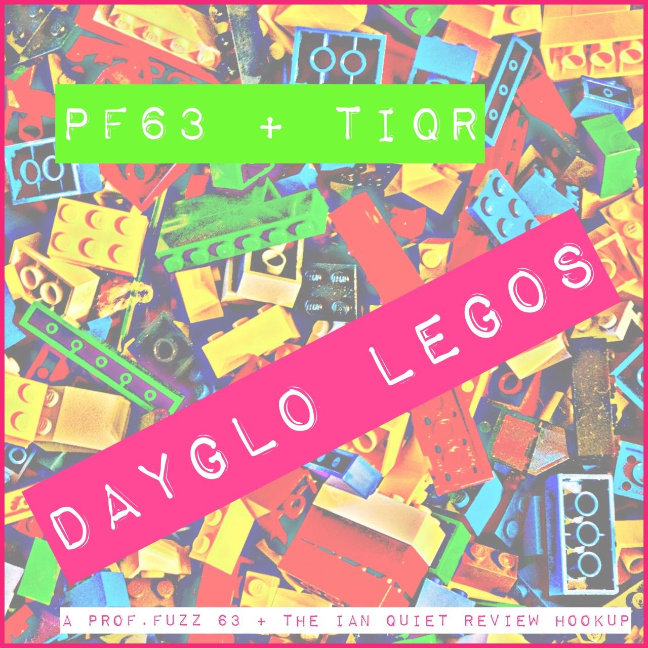 dayglo legos cover