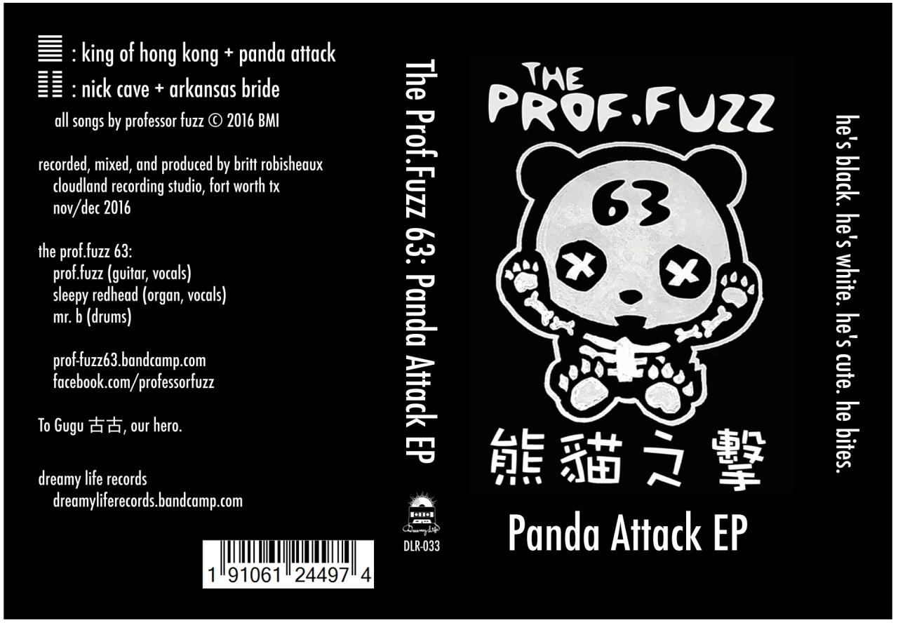 Panda Attack EP Cassette Cover