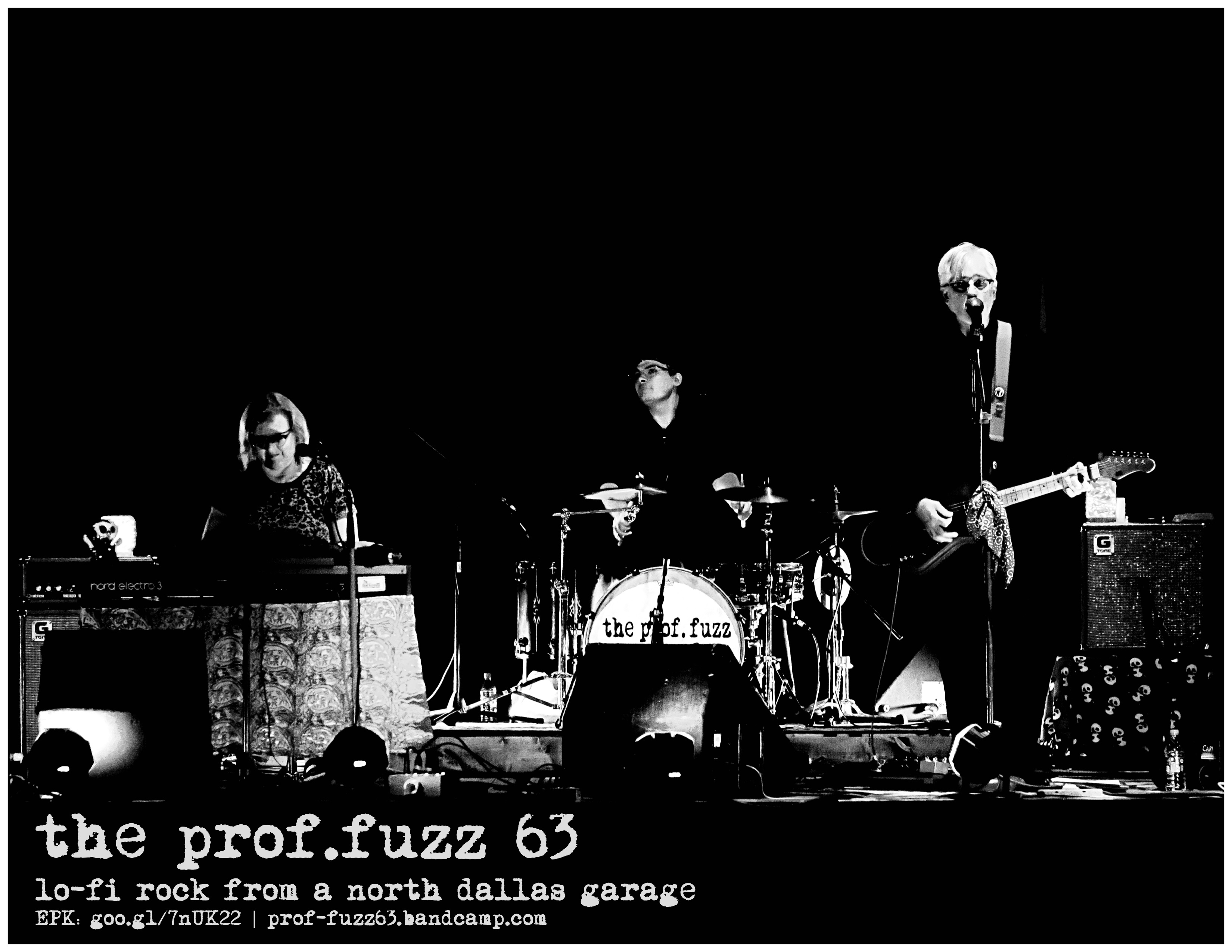 PF63 Band Photo bw