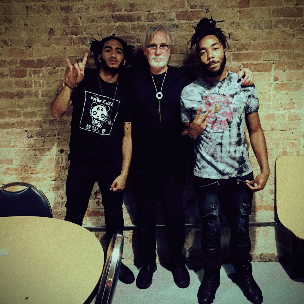 "Professor Fuzz with two really nice guys (not the meth-head ""promoter"") in Richmond IN"